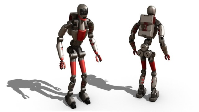 Application of Modbot for the design and construction of Humanoids.