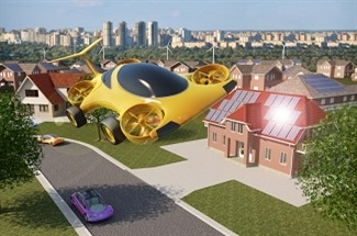 Could Quadcopters be the 'flying cars' of the Future?