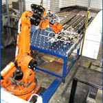 Material Handling Cells from Automated Robotic Systems, LLC.