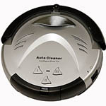 Robotic Intelligent Vacuum Cleaner from iTouchless