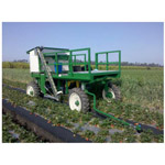 Robotic Strawberry Harvester from Robotic Harvesting, LLC.