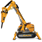BRONX 330D Demolition Machine from Brokk