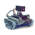 Rov-A-Cam Crawler Vehicle from Rovtech Systems Ltd.