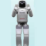 Humanoid Asimo from Honda Motor Co., Ltd.