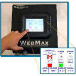 WebMax Web Break Detection Systems from US Automation, Inc.