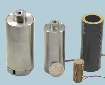 High Power Stack type Actuator from Piezosystem jena GmbH.
