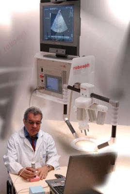 Estele Robotics System for Tele-Echography from Robosoft SA.