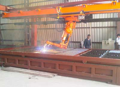 Robotic Plasma Cutting System From Poona Automation