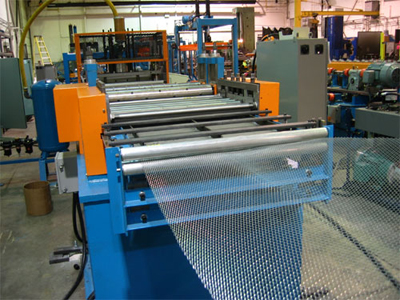 Expanded Metal Rollforming from Samco Machinery Ltd.