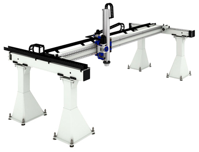 Flexmotion4 4 Series Gantry Robots From Automated Motion