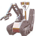 MRK-35 Mobile Surveillance Robotics from RuSec security systems Inc.