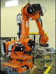 Palletizing Robot from Nachi Robotic Systems Inc.