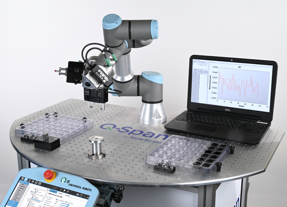 Q-Span™ Systems Combine Robotic Digital Calipers, Part Handling, and Data Logging to Automate Measurement Inspection