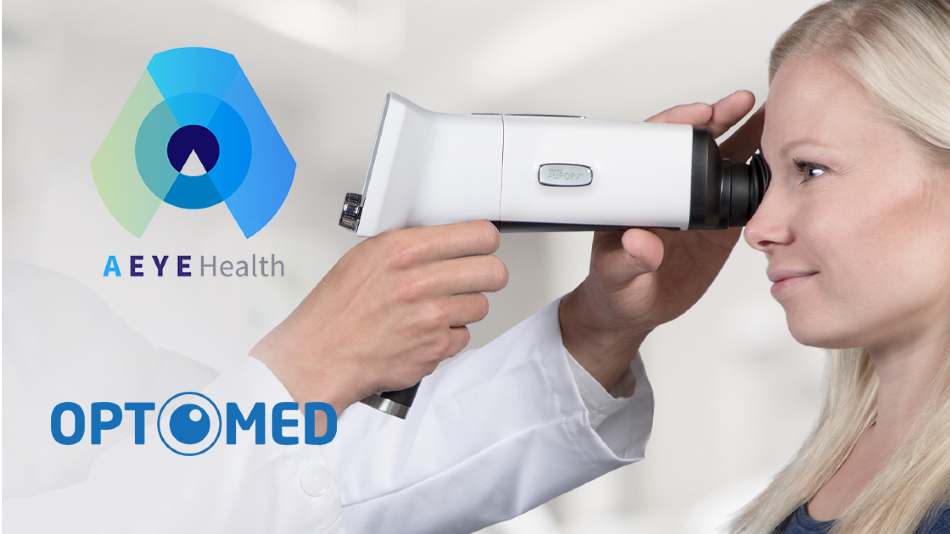 Optomed and AEYE Health to Introduce a Handheld AI Fundus Camera