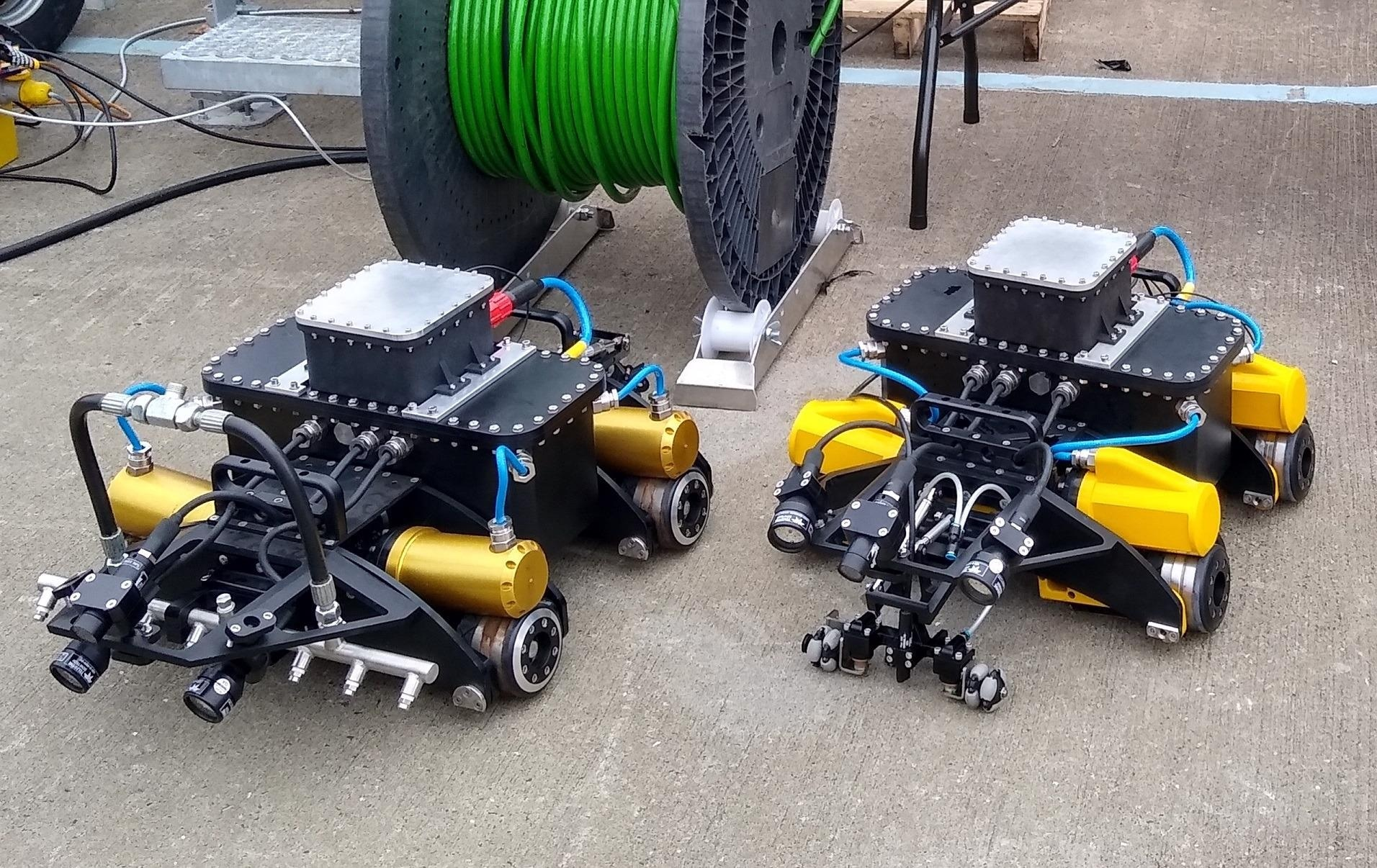 Amphibious iFROG Robot Leaps Ahead in Ability to Inspect and Maintain Offshore Assets