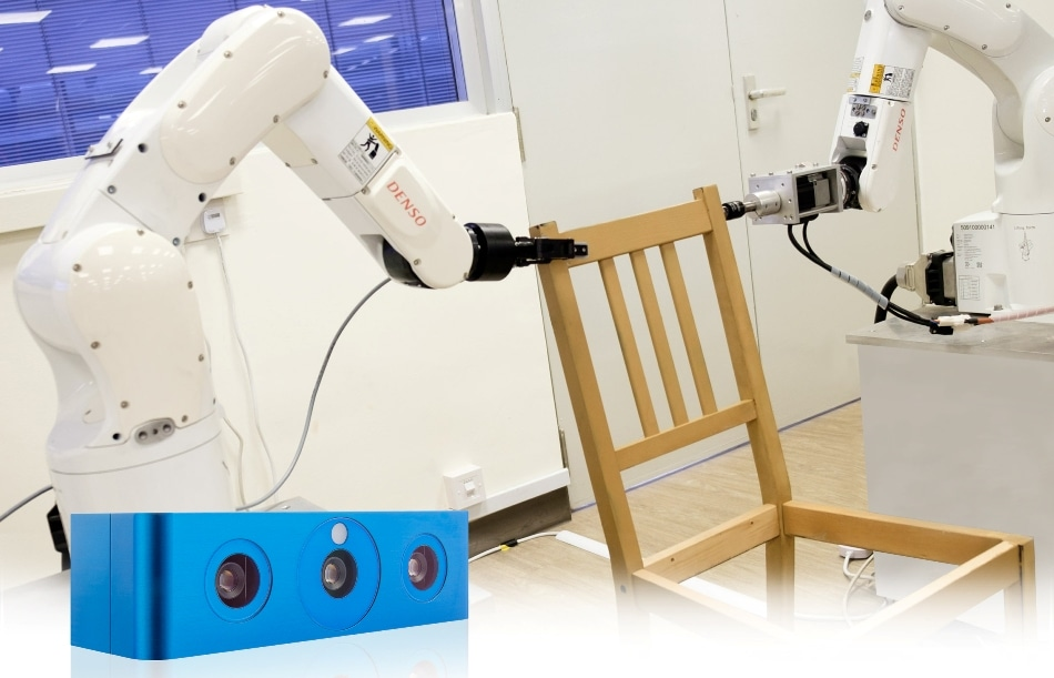 Furniture Assembly Using Robot Vision