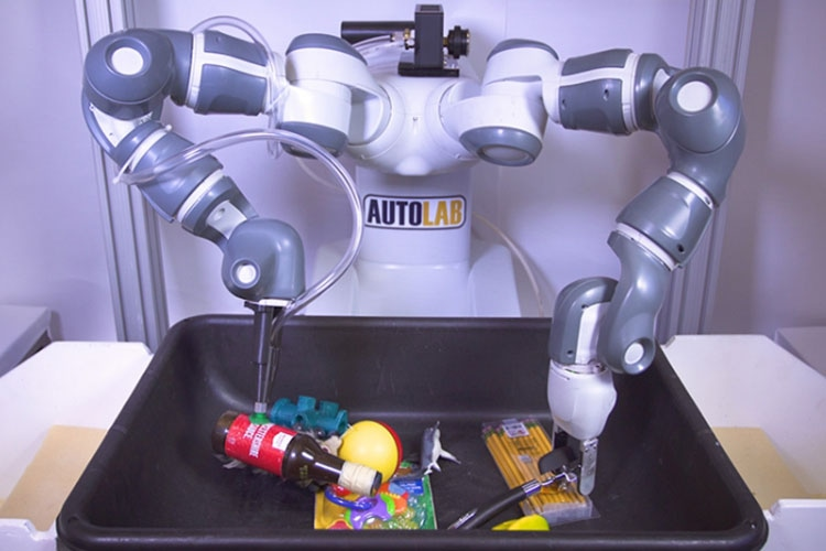 "New Machine-Learning Algorithm Could Teach ""Ambidextrous"" Robots to Grasp and Pick Up Any Item"
