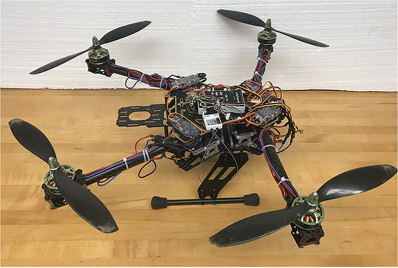 Drones can Fly in Windy Conditions with the New Insect-Inspired Arm Technology
