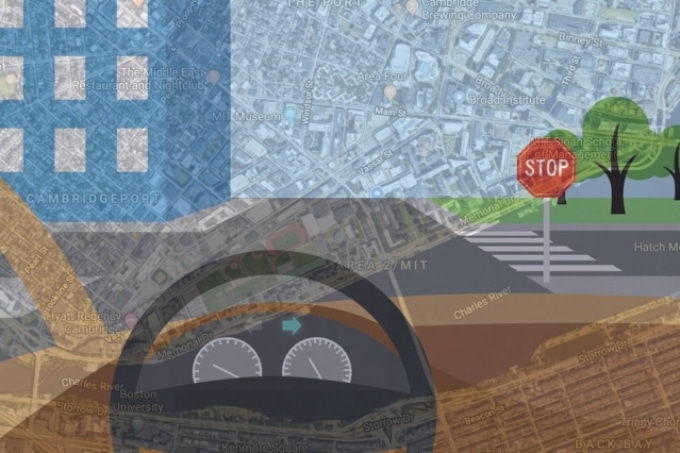 Autonomous Control System Uses Simple Maps and Image Data to Navigate New, Complex Routes