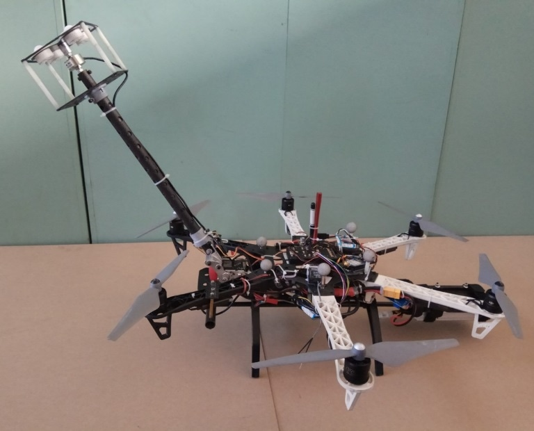 New Flying Robot Could Help in Repair and Maintenance of Skyscrapers