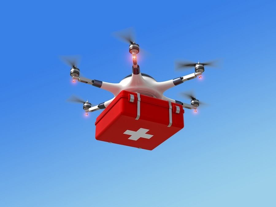 Delivering Vaccines Through Drones can Lead to Cost Saving
