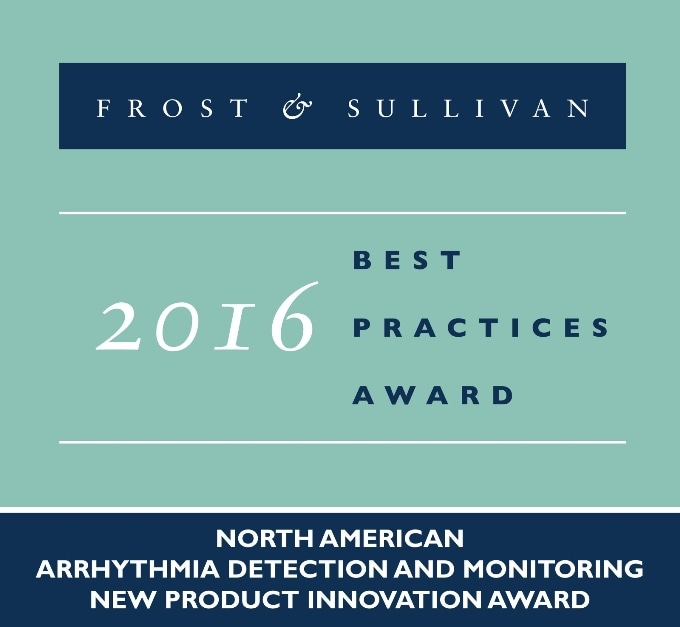 InfoBionic's MoMe Kardia System Receives 2016 North America Frost & Sullivan Award for New Product Innovation