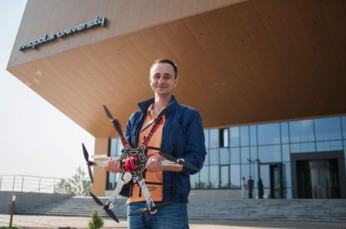 Innopolis University Researcher Working on Autonomous Battery Swapping in Drones