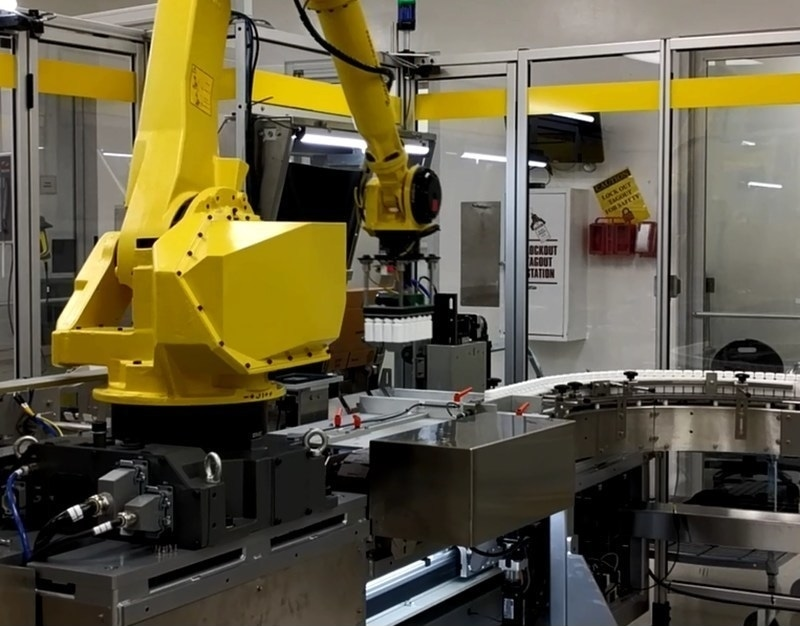 Major Global Pharmaceutical Manufacturer Implements Fully Automated Bottle Line Serialization and Aggregation Solution