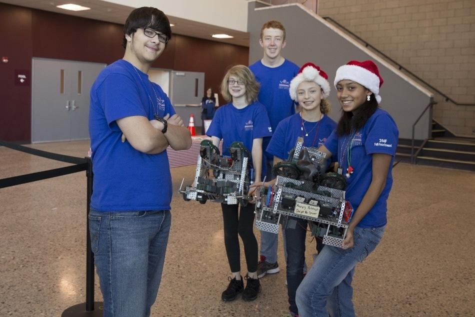 GrandvillePublic Schools Agrees to Support TenMichiganEvents for VEX Robotics