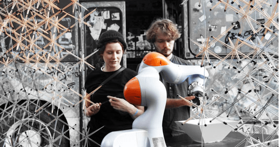 KUKA LBR iiwa Lightweight Robot Provides Support to Artists at Robodonien 2016