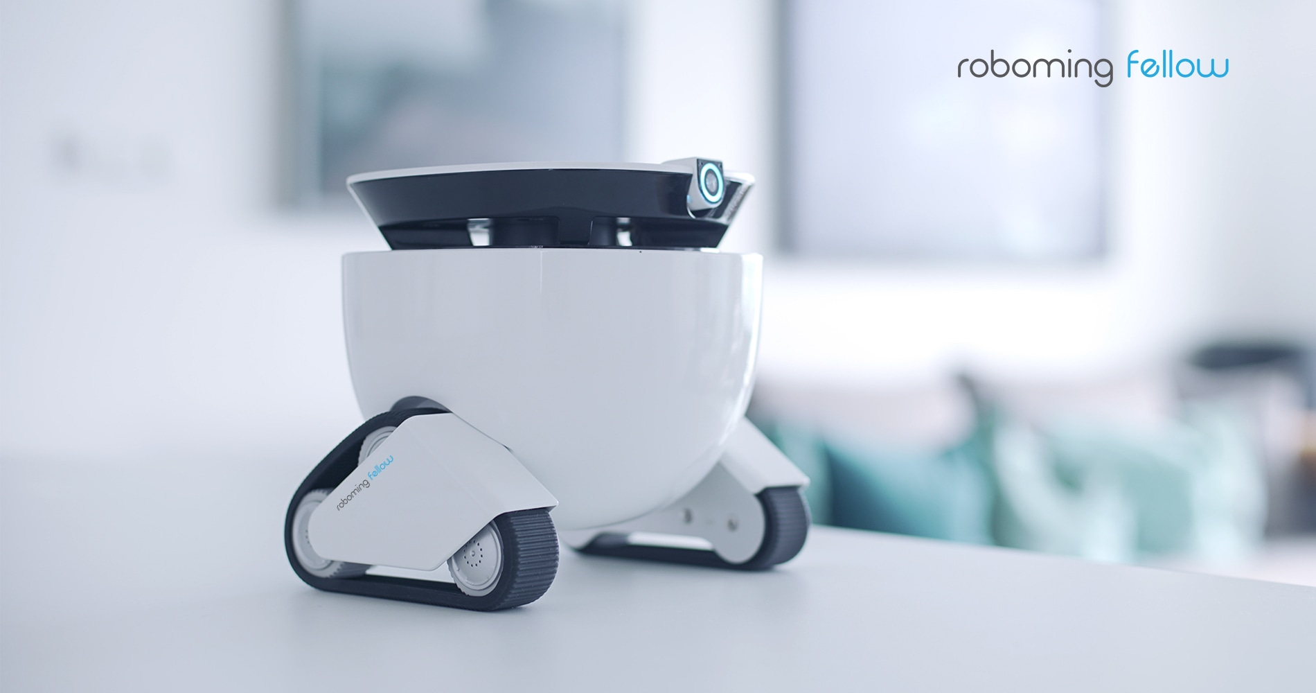 roboming fellow a personal robot for companionship home security. Black Bedroom Furniture Sets. Home Design Ideas