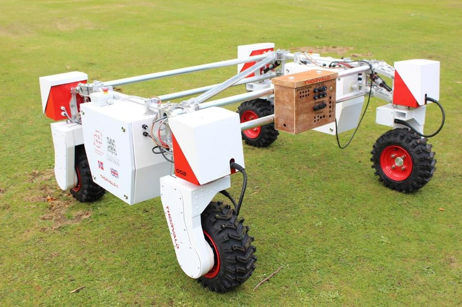 New Mobile Robot to Support Agri-Tech Research Activities at University of Lincoln Campus