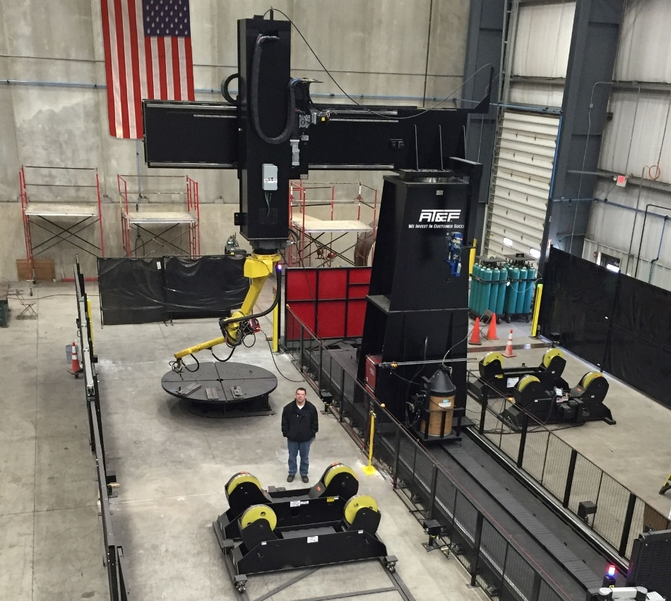 AT&F Cleveland Unveils Large Robotic Welding System