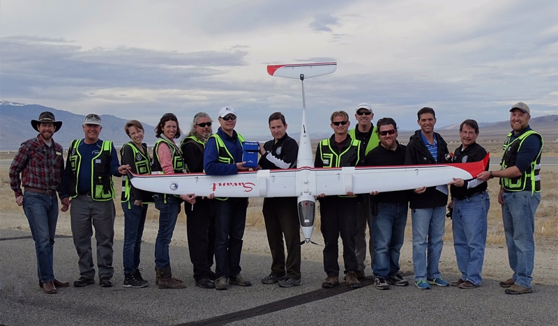 DRI-led Research Team Records Longest Unmanned, Cross-Country Round-Trip Flight in Nevada History