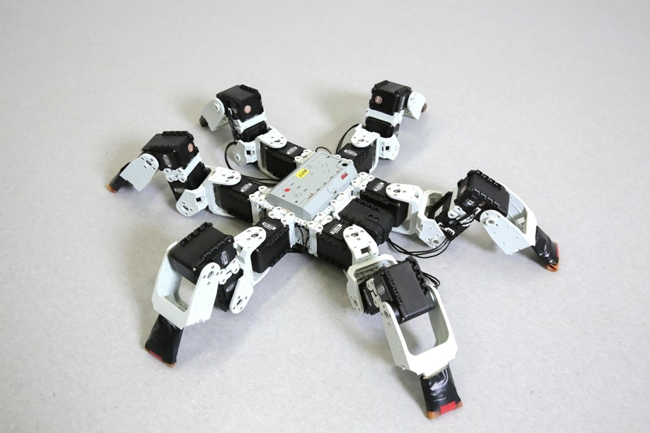Study Proves Gait of Six-Legged Robots is Faster than Nature-Inspired Gait