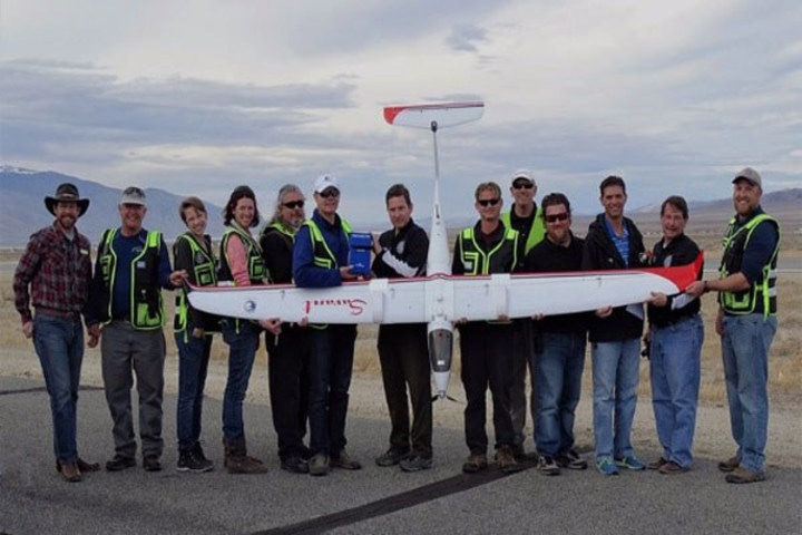 Nevada Drone Industry Sets New Long-Distance Record for UAV Package Delivery
