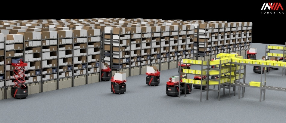 Invia Dynamic Automated Storage And Retrieval System Can