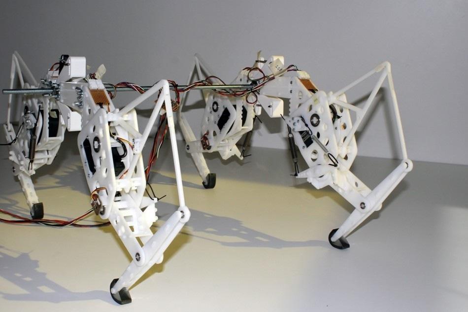 Researcher Develops Prototype Cheetah Robot