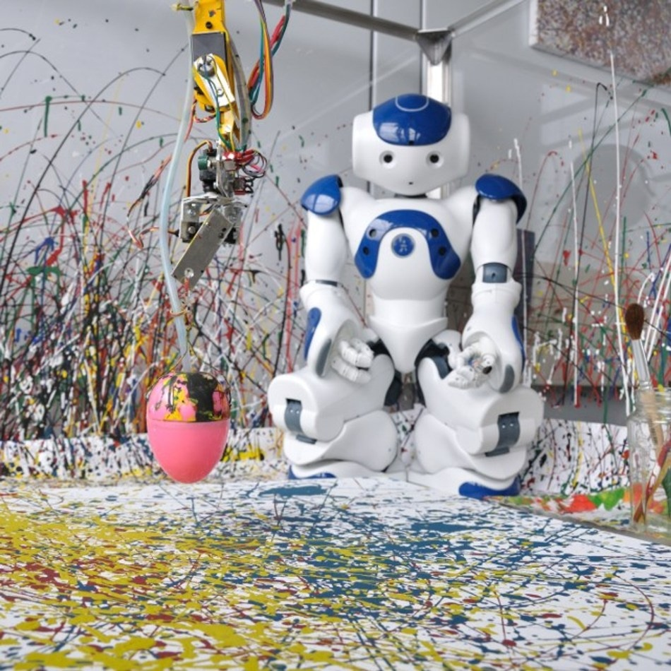 Robotic Art Contest Returns for Second Year with Many Skilled Painting Robots