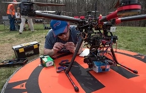 Students to Exhibit Off-the-Shelf Drone Customized for Archeological Surveys at Imagine RIT