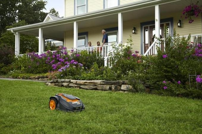 WORX's New Robotic Lawnmower Mows Lawn Without Supervision