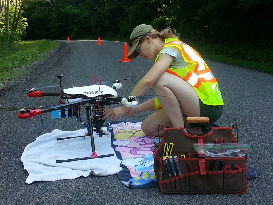Scientists Use Drones to Measure Albedo and Control Climate Change