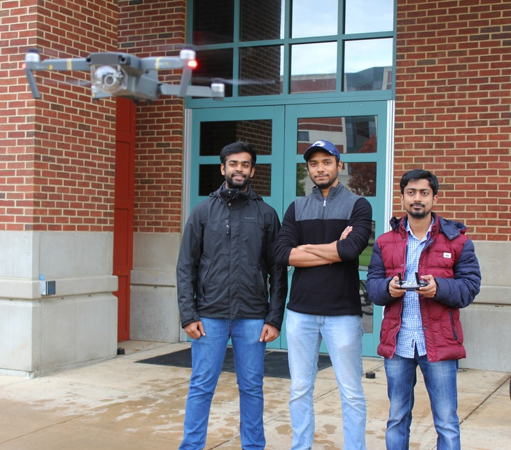 Researchers Explore Drone-Enabled Services with SmartPark System