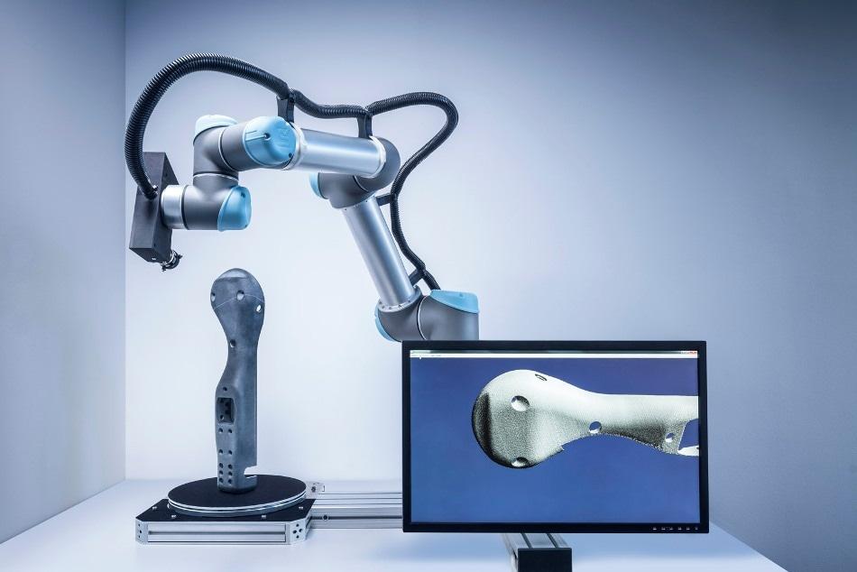 3D Scanner Suited for Autonomous Manufacturing of Parts