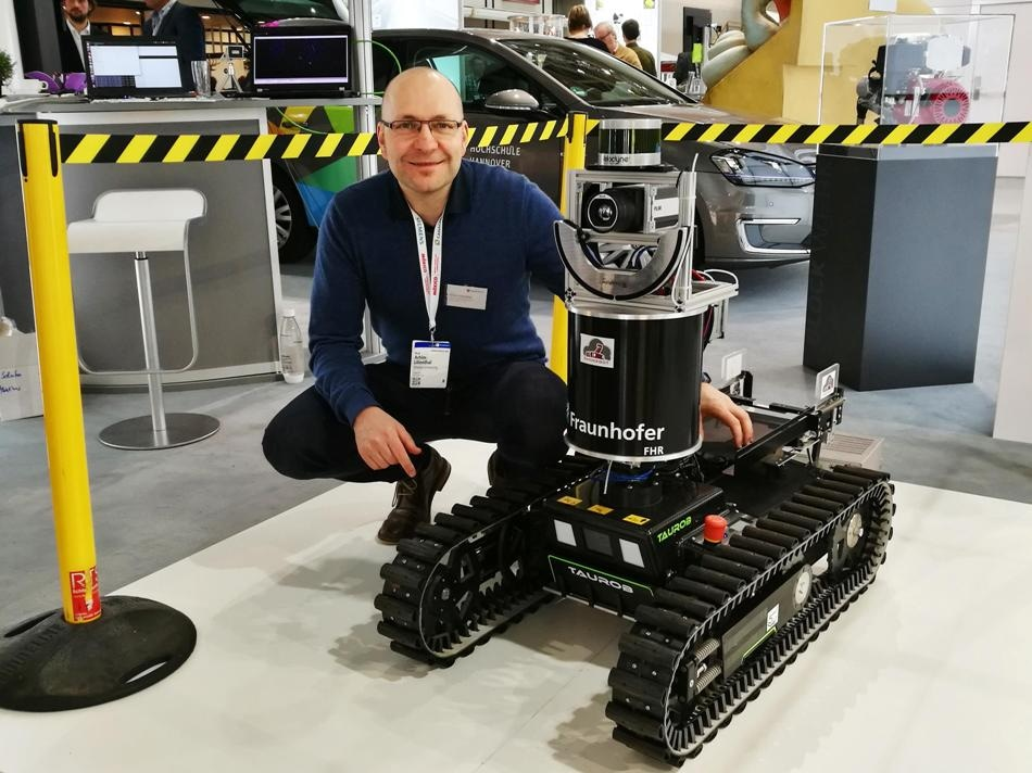 Innovative Robot Improves Safety of Rescue Operations