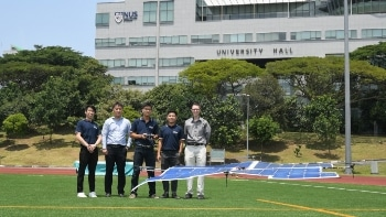 Asia's First Fully Solar-Powered Quadcopter Drone
