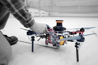 Autonomous System of Drones to Search for Lost Hikers in Dense Forests