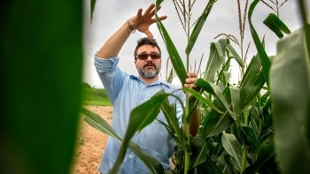 Plant Breeder Explores Latest Technology to Meet Growing Population's Food Demand