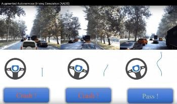 Highly Realistic Simulator Technology for Self-Driving Vehicle Safety Prior to Road Testing