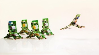 Robots Modeled after Ant Colonies can Jump, Communicate, and Work as a Group